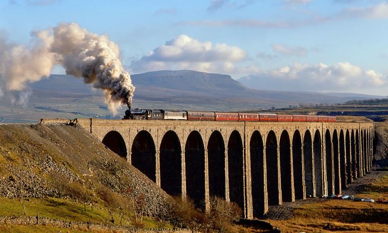 Settle Carlisle Steam Train