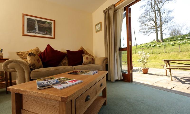 Hulber Cottage Living Room