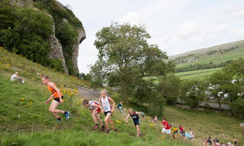 Kilnsey Show Junior Fell Race
