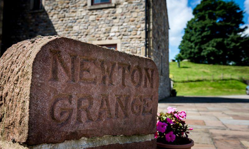 Newton Grange Sign