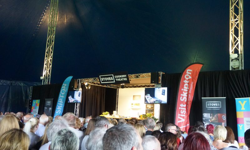 Celebrity Chef Demonstration Marquee