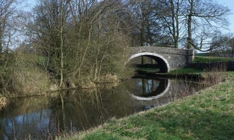 Leeds Liverpool Canal Bridge 164