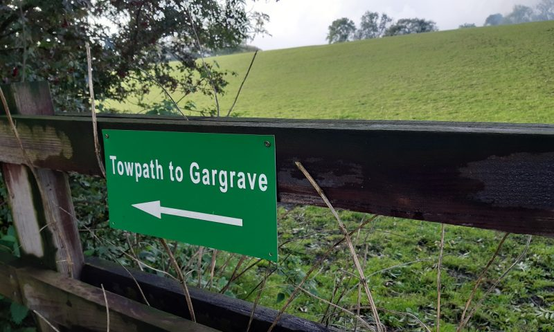 Towpath to Gargrave