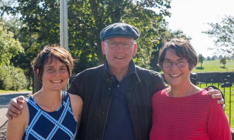 Pete Waterman at Newton Grange
