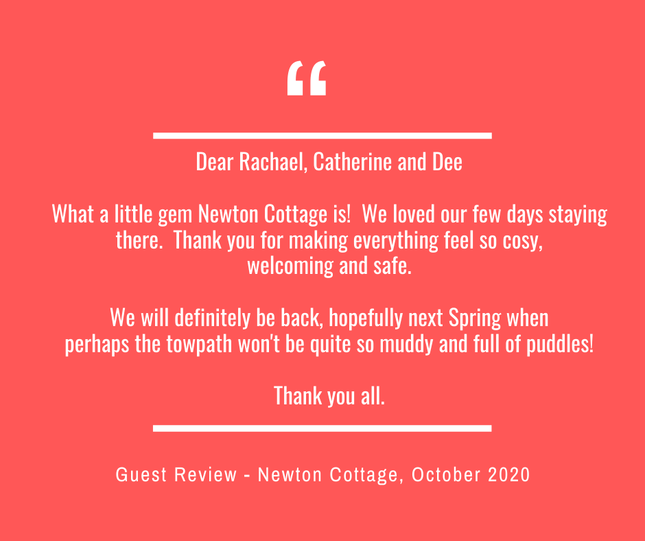 Newton Cottage Guest Review