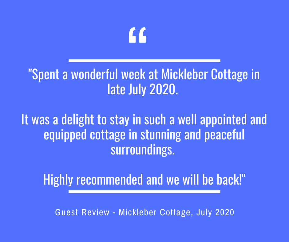 Mickleber Cottage Guest Review