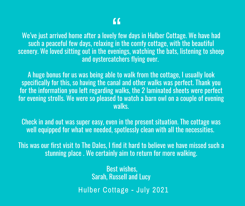 Hulber Cottage Review