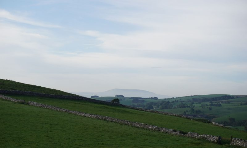Pendle Hill from Malhamdale