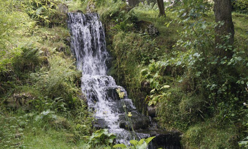 Waterfall at Parceval Hall